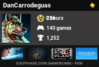 carrodeguas's Gamercard