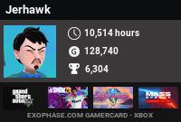 Jerhawk's Gamercard